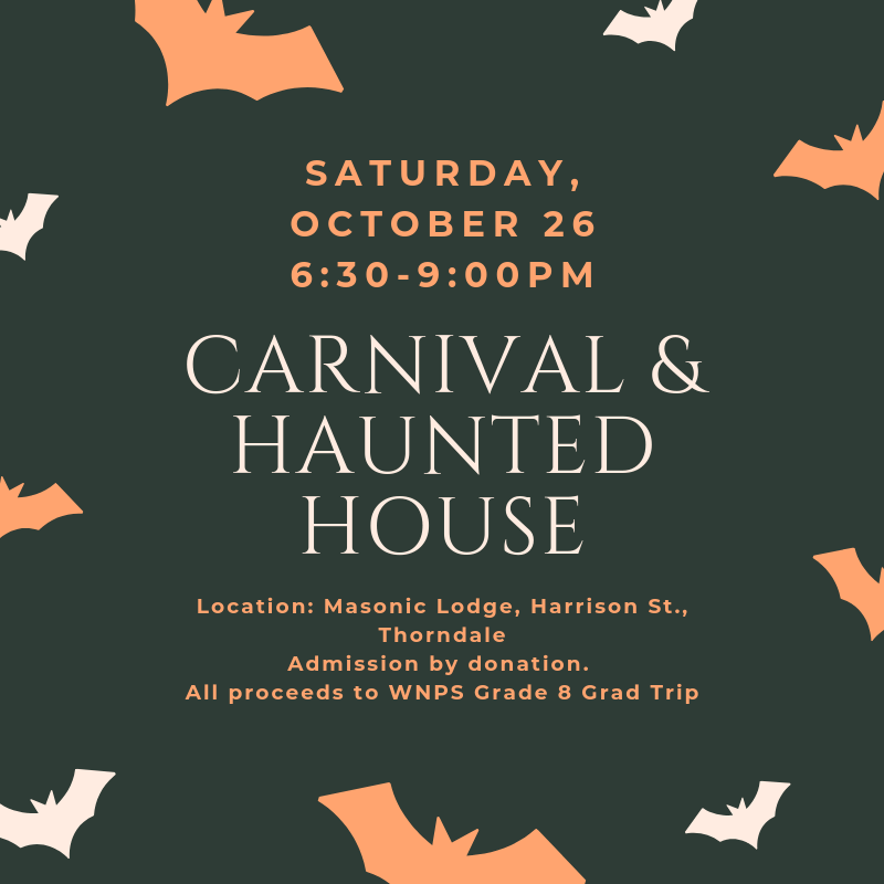 Annual Carnival & Haunted House