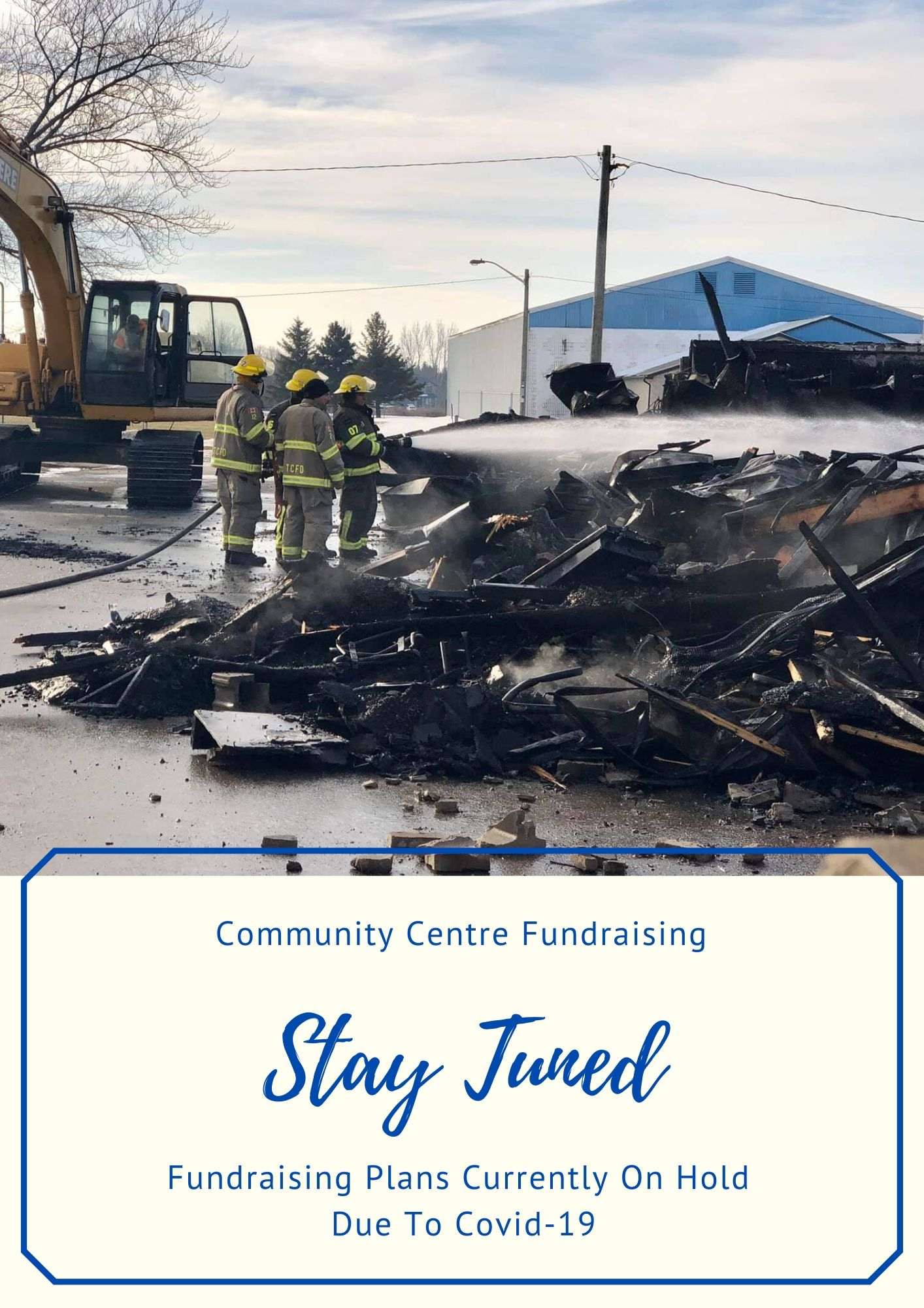 Thorndale Community Centre Fire