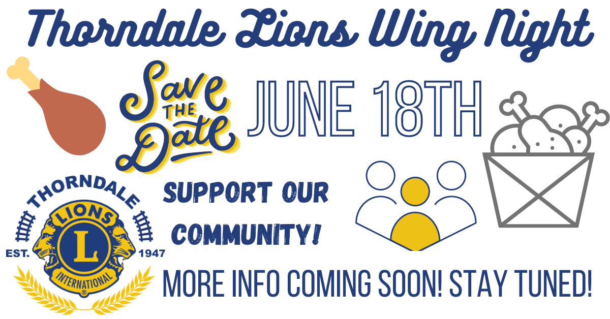 Thorndale Lions Wing Night - Site